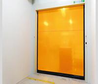 屋内用・自立式電動シートシャッター