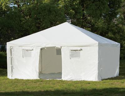 災害避難用多目的大型テント
